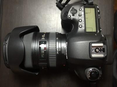 出售一台佳能5D3配24-105镜头