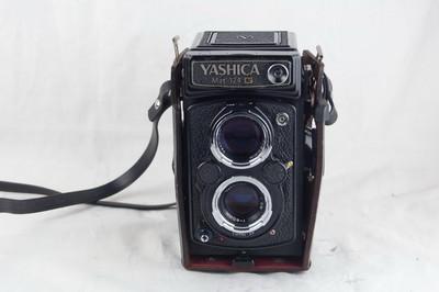 雅西卡 124G Yashica-Mat 124 G 带皮套