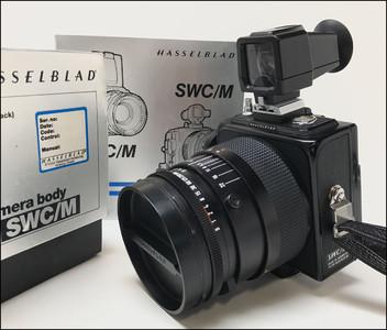 哈苏 Hasselblad SWC/M 标钢 38/4.5 CF T* (903同样)带包装