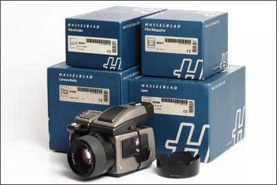 哈苏 Hasselblad H1 + 80/2.8 HC 套机 都带包装 快门仅2000