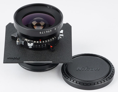 极新 尼康 SW90 8 NIKKOR-SW 90mm/f8 4X5大画幅座机广角镜头