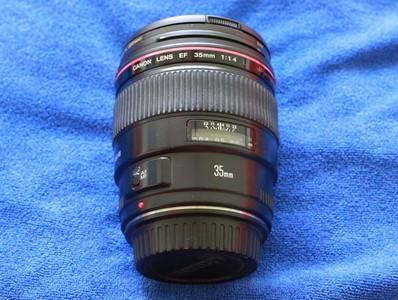 便宜出售 佳能 EF 35mm f/1.4L USM  还送 B+W