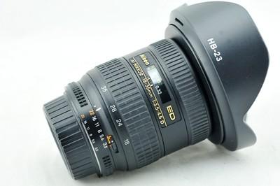 新城摄影 日行二手镜头尼康 AF 18-35 3.5-4.5D 银广角18-35mm