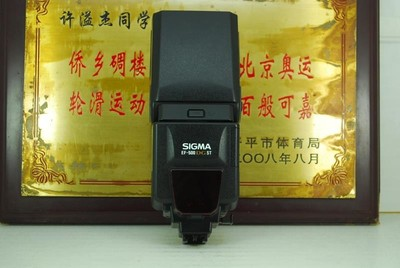 索尼口 适马 EF-500 DG ST 闪光灯 单反相机 外置机顶灯 自动同步