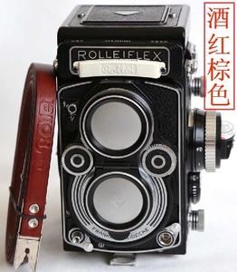 禄来真皮背带 禄莱3.5F剪刀口扣 Rollei2.8i双反【相机背带大全】