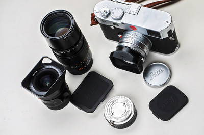 低价出让98新银色徕卡M352A镜头 全新宫崎貞安M21F4.5饼干头
