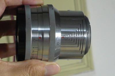 蔡司 Carl Zeiss Biotar 75/1.5 T*大B瘦版,罕见全铜镀铬