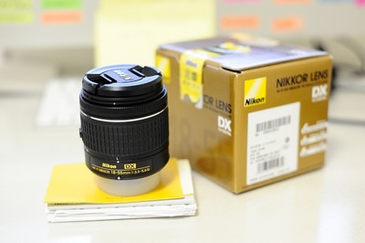 尼康AF-P DX NIKKOR 18-55mm F3.5-5.6G