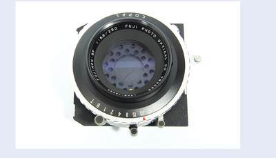 富士 fujinon sf 250 5.6 人像镜头 大画幅镜头