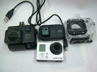 2013款 GOPRO HERO3 高清极限运动摄像机