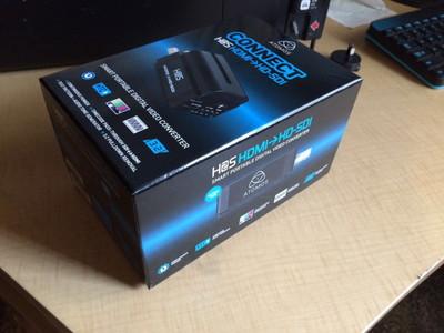 Atomos connect H2S HDMI转SDI 转换器