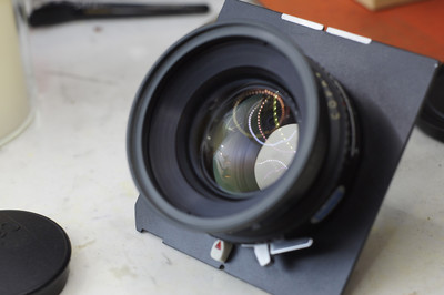 罗敦斯德Rodenstock Sironar 210mm F5.6带快门镜头板