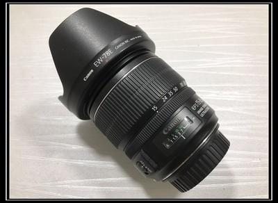 【天津瑞亚哈密道店】99新 佳能 EF-S 15-85/3.5-5.6 IS USM
