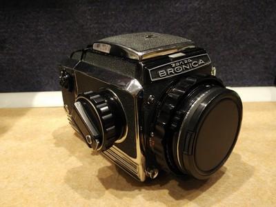 勃朗尼卡Bronica S2带75F2.8中画幅胶片套机