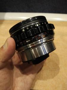 勃朗尼卡Bronica S2 EC用75F2.8标头带调焦桶