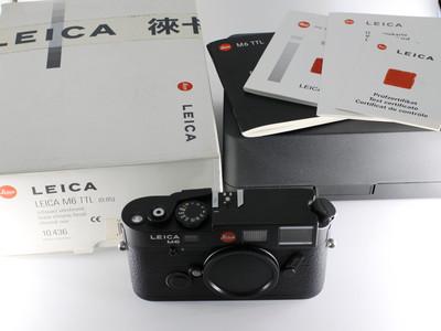 徕卡 LEICA M6 0.85 TTL 后期大盘 黑色机身
