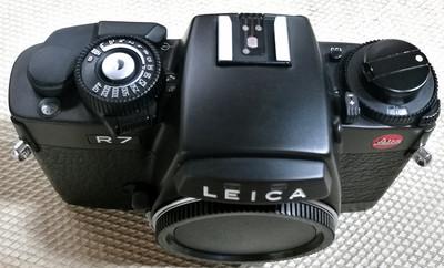 Leica/徕卡 R7 黑色胶片相机