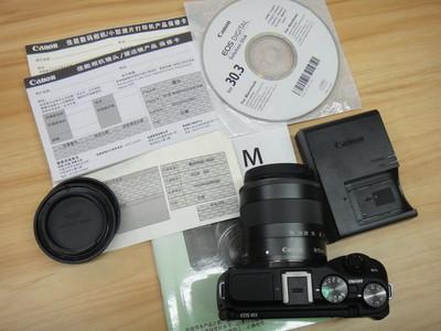 佳能EOS M3套机 18-55mm IS STM 9.9成新