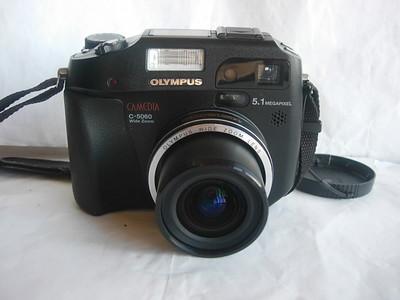 极新奥林巴斯 C5060 WIDE ZOOM经典数码相机,大CCD,收藏使用