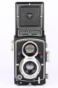 禄来 rolleicord VA 德产双反相机 120胶片 施耐德镜头