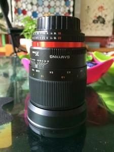 三阳35mm f1.4 镜头 尼康口