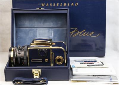 哈苏 Hasselblad 503cx 蓝皮金机 50周年纪念 套机 带包装