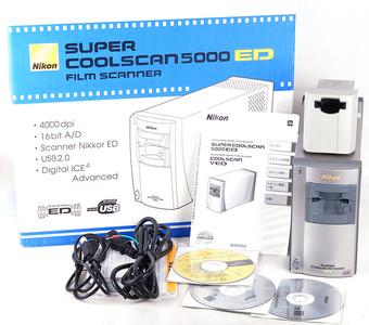 Nikon/尼康 CoolScan 5000ED+SA-21/MA-21适配器 #jp18020
