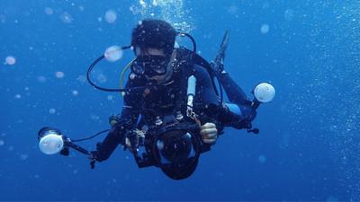 佳能5D3 深潜防水壳 YS-D1水下闪光灯 95新 忍痛割爱