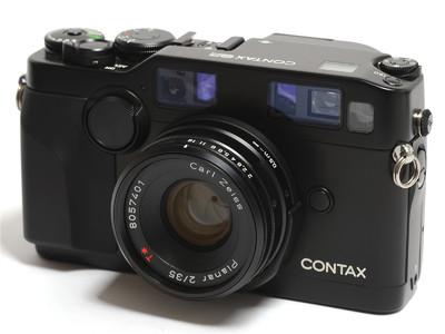 康泰时/Contax G2相机 黑色  連35mm F/2镜头GG-1遮光罩 *超美品*