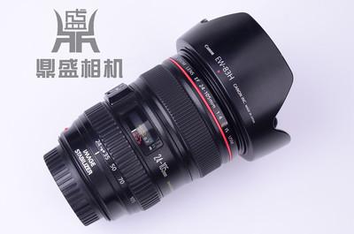 佳能24-105/4 IS防抖标准挂机红圈镜头 成色很新 功能正常 无拆修
