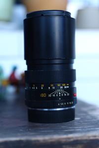 Leitz Vetzlar Elmar-R 180 mm f/ 4