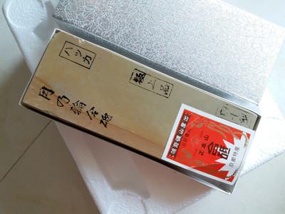 几块日本产天然仕上砥石