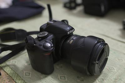 尼康 D3100及镜头AFS18-70 3.5-4.5