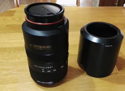 95新索尼 70-300mm f/4.5-5.6G SSM(SAL70300G)镜头