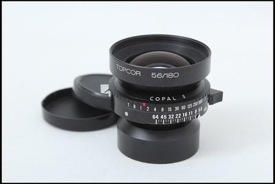 骑士马头TOPCOR 180/5.6 4X5D大画幅座机镜头