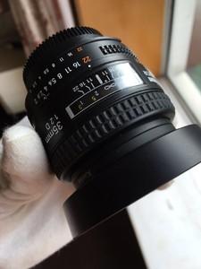 ★尼康 AF 35mm f/2D 送Kenko L37 UV镜