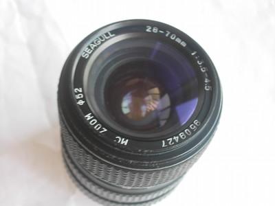 海鸥28--70mm镜头,MD卡口,可转接各种数码相机
