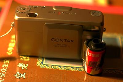 CONTAX 康泰时 TVSⅢ TVS3一代经典