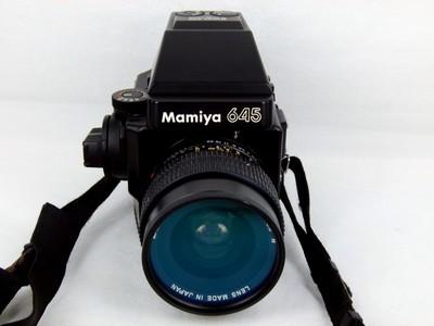 玛米亚M645 带45/2.8镜头套机