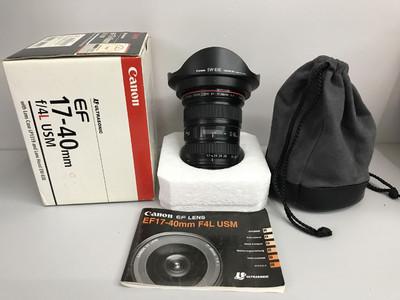 佳能 EF 17-40mm f/4L USM 天津福润相机 【2888#】支持置换租赁