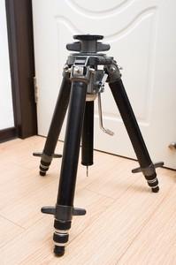 捷信 GITZO G417 4号 铝合金齿轮绞齿升降中轴三脚架