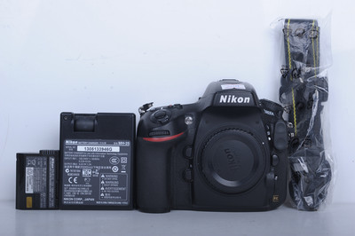 90新二手 Nikon尼康 D800E 单机 快门20100多次(20013)【京】