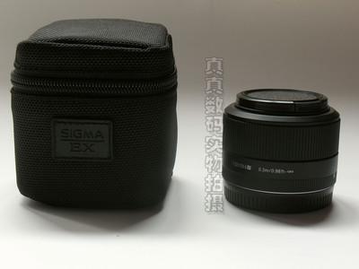 成色极好 原装 适马30 F2.8 EX DN索尼微单E口带原装镜头筒#1216