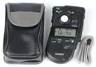 新净 世光 SEKONIC L-408 入射反射点测光一体式专业测光表
