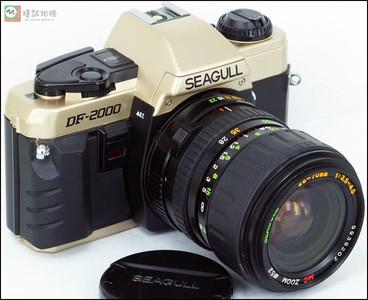 海鸥DF-2000胶片机身带海鸥 28-70/3.5-4.5手动镜头