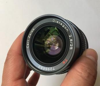 康泰时名镜 135单反用 25MM F2.8定焦镜头 MMJ