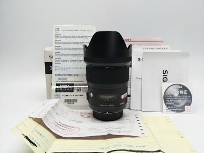 98新带行货原包装适马35mm f/1.4 DG HSM(A)35/1.4 尼康口