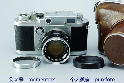 【真水无香】95新美能达MINOLTA-35 MODEL IIB 旁轴相机 带50/1.8