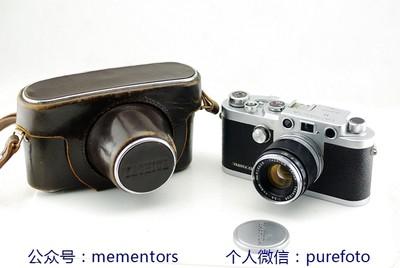 【真水无香】罕见雅西卡Yashica YE 仿徕卡旁轴相机 带50/2.8镜头