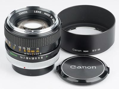 佳能FD50 1.4 Canon FD50mm/f1.4 FD口手动标头